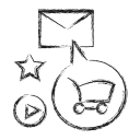 Email Marketing Business Icon
