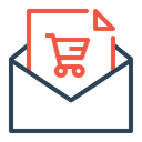 Email Message Shop Icon