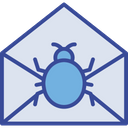 Email Spam Virus Icon