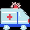 Emergency Vehicle Care Embulance Icon