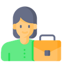 Employee Office User Icon