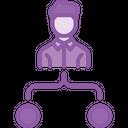 Employee Task Flow Icon