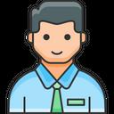 Employee User Male Icon