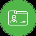 Employee detail Icon