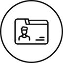 Employee Detail Folder Icon
