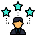 Employee Rate Icon