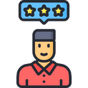 Employee Review Icon