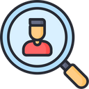 Employee Search Find Employee Find Job Icon