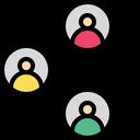 Employee Sharing Icon