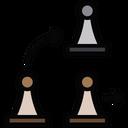 En Passant Pawn Knock Pawn Icon