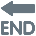 End Arrow Icon