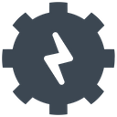 Energy Gear Process Icon