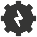 Energy Gear Process Icon