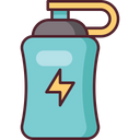 Energy Drink Football Soccer Icon