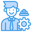 Engineer Manager Icon