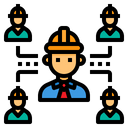 Engineer Network Icon