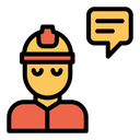 Engineering Chat Icon