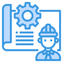 Engineering Plan Icon