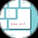 Enter Login Access Icon