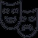 Entertainment Masks Icon