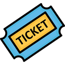 Entry Ticket Event Pass Ticket Icon