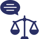 Equity Fair Decision Justice Icon