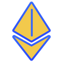 Ethereum coin Icon