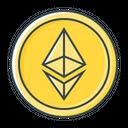Ethereum Eth Cryptocurrency Eth Icon
