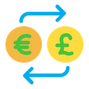 Euro And Pound Exchange Icon