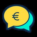Euro Chat Bubble Euro Chat Bubble Icon