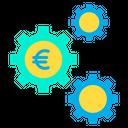 Euro Cog Euro Money Mangement Icon