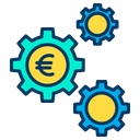 Euro Cog Euro Money Mangement Icon