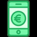 Euro Mobile Icon