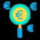Euro search Icon