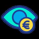 Euro Eye Eye Euro Icon