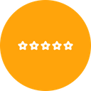 Evaluation Five Star Icon