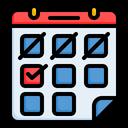 Event Calendar Schedule Icon