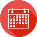 Event Processing Calendar Icon