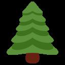 Evergreen Tree Christmas Icon