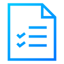 Exam Paper Exam Sheet Test Paper Icon
