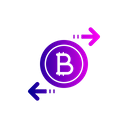 Bitcoin Exchange Chain Icon