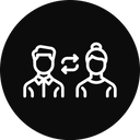 Exchange employee Icon