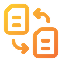 Exchange File Document File Icon