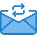 Change Exchnage Mail Share Mail Icon