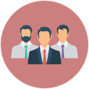 Executive Manager Leader Icon
