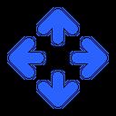 Arrow Move Ui Icon