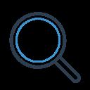 Explore Find Magnifier Icon