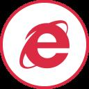 Explorer Social Logos Icon
