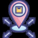 Distribution Export Location Icon