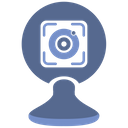 Eye Scanner Biometry Icon